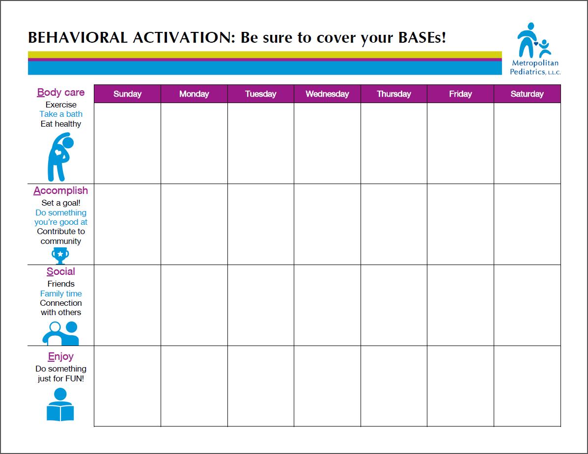 Bases Worksheet Metropolitan Pediatrics
